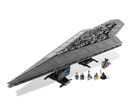 Lego Star Wars Super Star Destroyer (10221) - Comme neuf ORIGINAL, boîte d'expédition