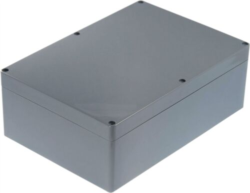 Rnd composants en plastique Boîtier 265 x 185 x 95 mm gris foncé ABS IP65