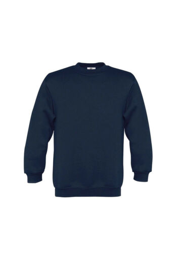 B/&C Collection Kids Crew Neck Full Sleeves Plain Pullover Sweatshirt Casual Wear