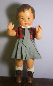 Rare Antique Flirty Doll Eye Poupee Doll Puppen Vintage Antique