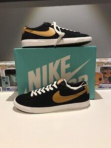 Nike-SB-Zoom-Blazer-Low-GT-Sz-11-5-Blk-Wheat-Summit-White-704939-004-Deadstock