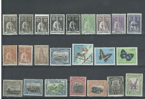 Portugal-Colonies-mostly-Classic-1910-039-s-1920-039-s-23-Stamps-Mint-NH