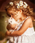 Little Girl with Kitten Canvas Picture Acrylic Oil DIY Paint Set by Numbers Kits