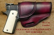 Gary Cs Leather Avenger Owb Right Hand Holster Colt 1911 Government 5 Amp Clones