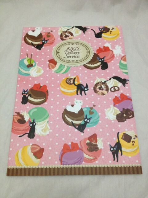 Kiki's Delivery Service B5 Notebook F/S Studio Ghibli from JAPAN