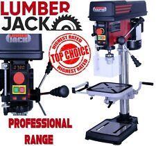 Lumberjack Bench Top 12 vitesse Pilier Perceuse Presse avec 16 mm Chuck 240 V