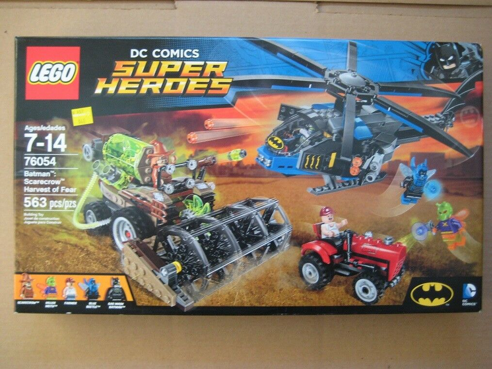 Lego 76054 Dc Super Heroes Batman  Scarecrow Harvest Of Fear - New, Sealed