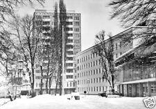 AK, Suhl, Am Interhotel, Winteransicht, 1979