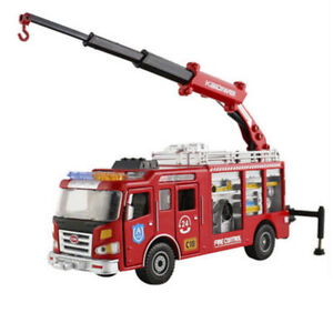 Fire-engine-Truck-Construction-Vehicle-Car-Model-Toy-1-50-Metal-Car-Model
