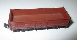 Minitrix-13171-Type-Ouvert-Wagon-de-Marchandises-E-037-2achs-Braun