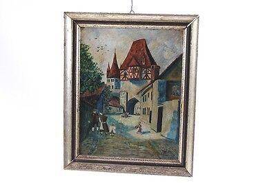 Logical Bonito Antiguo Marco De Madera Para Foto Con Motivo Tema Pintura Al Óleo Pintura Muebles Antiguos Y Decoración Espejos
