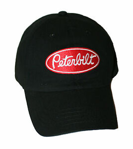 8bef388872f Image is loading Peterbilt-Trucks-Motors-Unstructured-Basic-Black-Logo -Trucker-