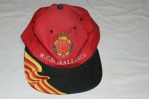 GORRA-DE-FUTBOL-DEL-REAL-CLUB-DEPORTIVO-MALLORCA-VINTAGE-MUY-ESCASA-Y-COTIZADA
