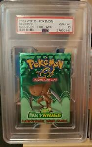 PSA-10-Skyridge-Booster-pack-Kabutops