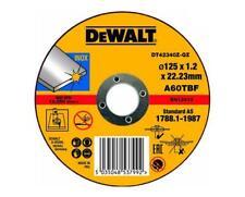 10 X Dewalt Metal Cutting /& Grinder Disc115MM 1.2MM Inox Stainless steel DEWDT42