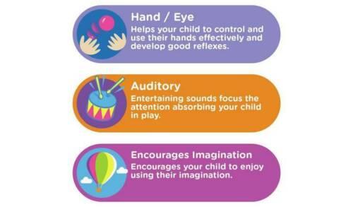 Chad Valley parler et Touch T-Rex jouet éducatif introduisant Enfants Animal Sound