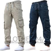 Mens Jeans Designer Eto Cuffed Joggers Branded Denim Pants Bottoms All Sizes