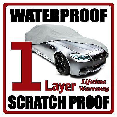 1 Layer Car Cover Breathable Waterproof Layers Outdoor Indoor Fleece Lining Fie