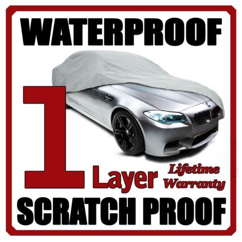 1 Layer Car Cover Breathable Waterproof Layers Outdoor Indoor Fleece Lining Fiy