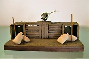 Diorama-Trench-Military-Soldati-With-Headlight-Vintage-CM-33-5x24