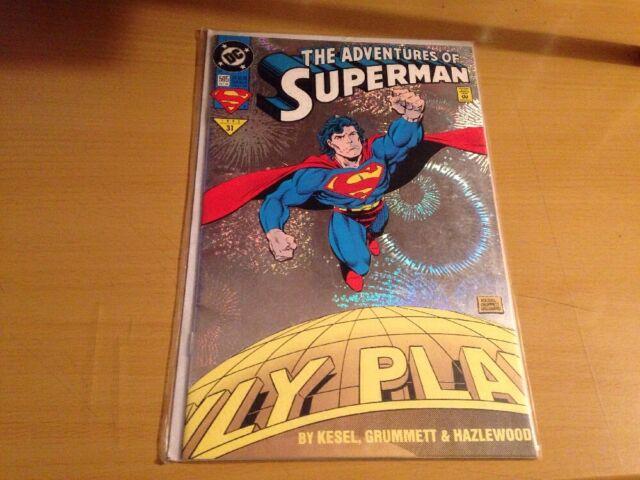 Adventures of Superman #505 (Oct 1993, DC)
