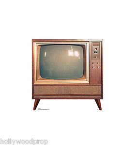 cutout Vintage television