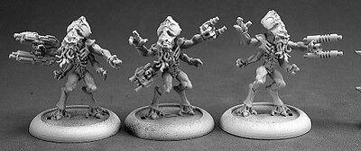 Kulathian Invaders Reaper Miniatures Chronoscope Sci Fi Aliens Bathalian Monster