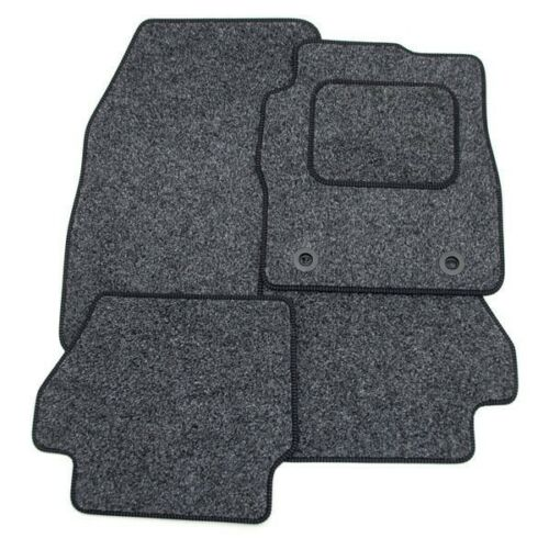 FIAT 500 (12+) (4 Clip) Tailored Car Mats GREY ANTHRACITE