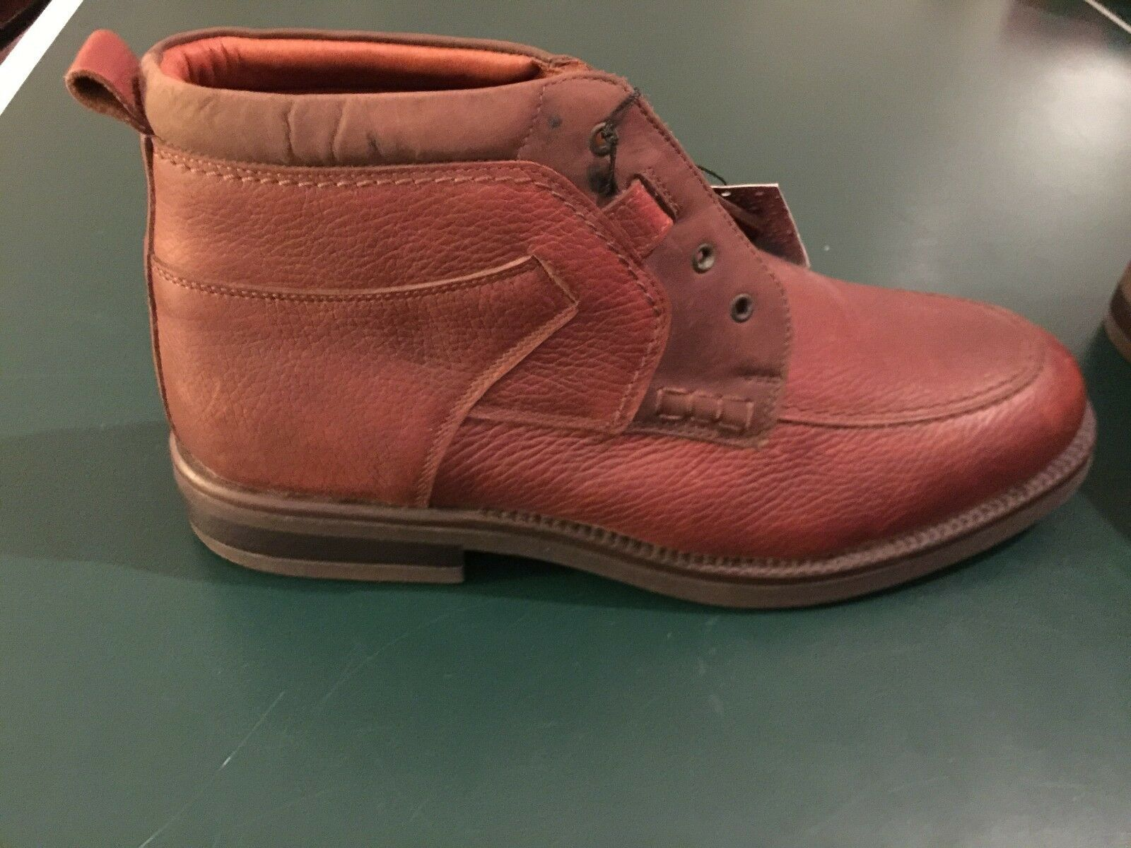 JOHNSTON AND MURPHY Passport Up braun Leather Lace Up Passport Oxford Ankle Stiefel Größe 10 M d6f477