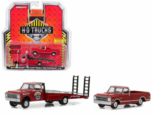 `71 Chevrolet C-30 Ramp Truck 1968 Chevy C-10 Truck ** Greenlight 1:64 OVP