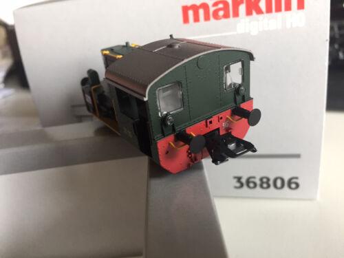 Märklin h0 36806-Köf II groupe 213-EXPORT modèle Italie-Digital-Neuf//Neuf dans sa boîte
