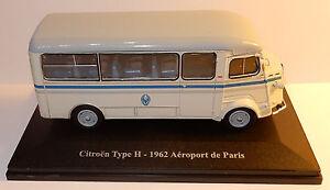 RARE-ELIGOR-HACHETTE-N-30-CITROEN-TYPE-H-1962-NAVETTE-AEROPORT-DE-PARIS-1-43