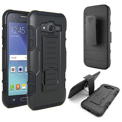 Armor Hybrid Kickstand  Belt Clip phone  Case Cover  For Samsung Galaxy J5 J7