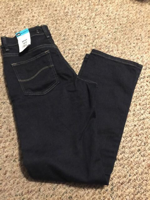 Women S Lee Relaxed Fit Straight Leg Jeans Size 6 Short For Sale