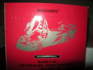 1-18-Minichamps-mclaren-f1-GTR-Lark-Team-McLaren-1997-Limited-Edition-en-OVP