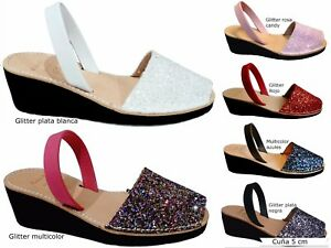 Avarcas-menorquinas-GLITTER-CUNA-5cm-heel-taco-real-sandals-menorca-spain-abarca