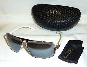 Authentic GUESS GU6512-10C-66 Men s Aviator Sunglasses Gray Lens ... 945de07528