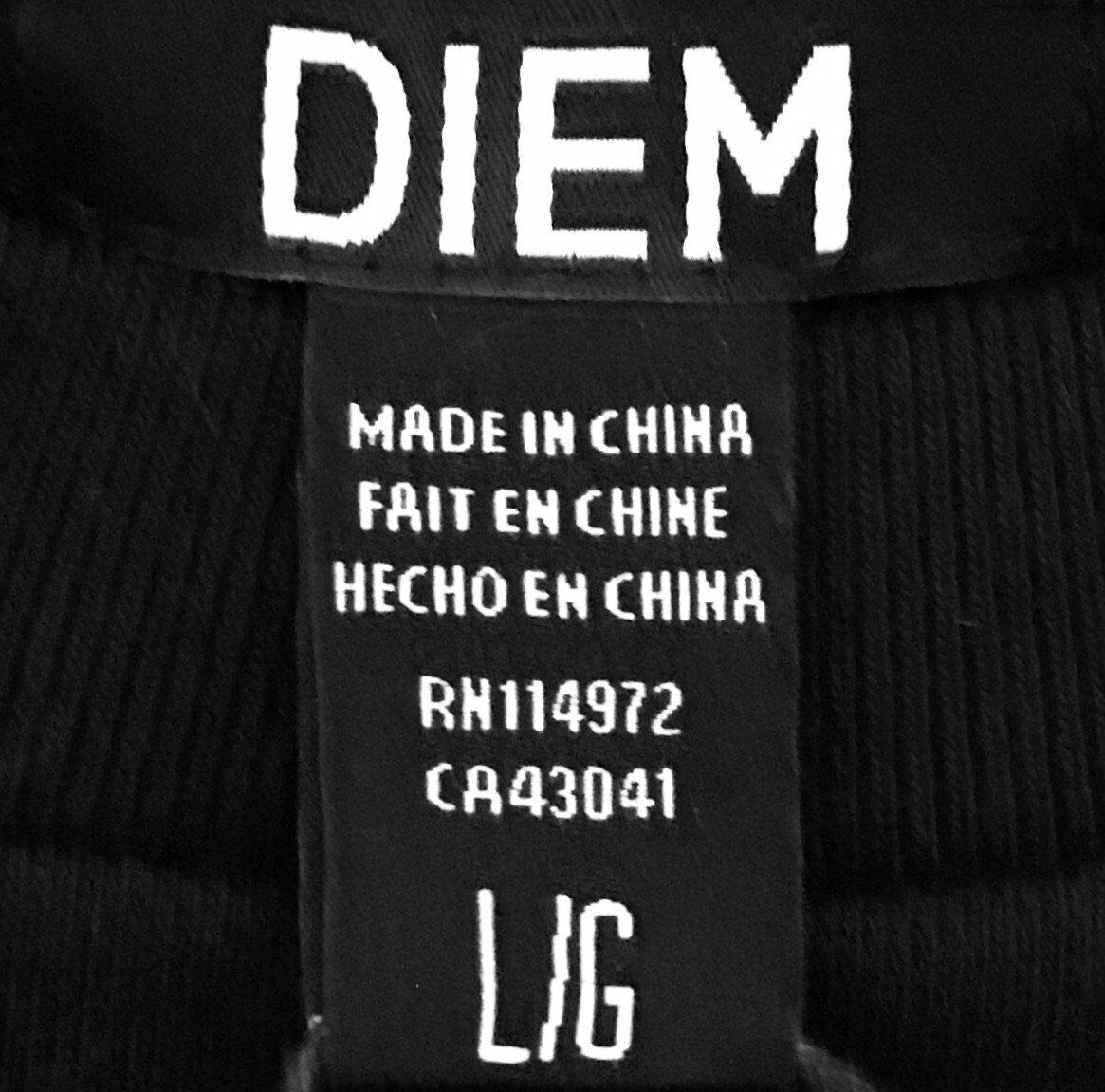 DIEM Two Tone Crewneck Sweatshirt