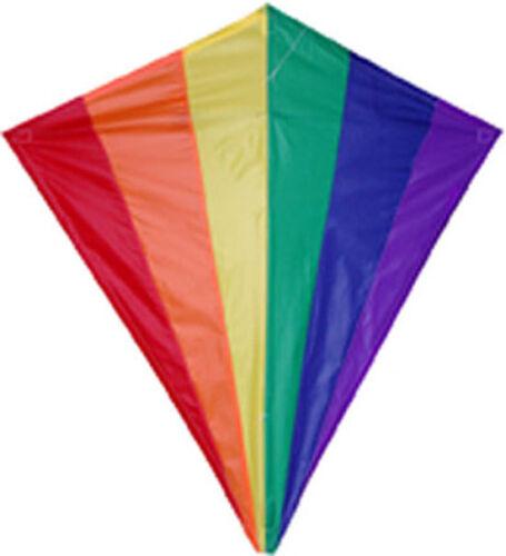 """Kite Rainbow Diamond 30/"""" Kite..10.. PR 15408"""