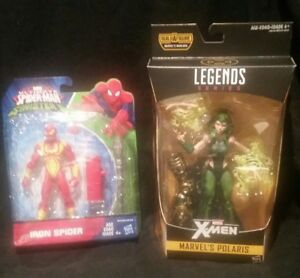 Ultimate Spider-man Vs The Sinister Six Iron Spider, Marvel Legends Polaris