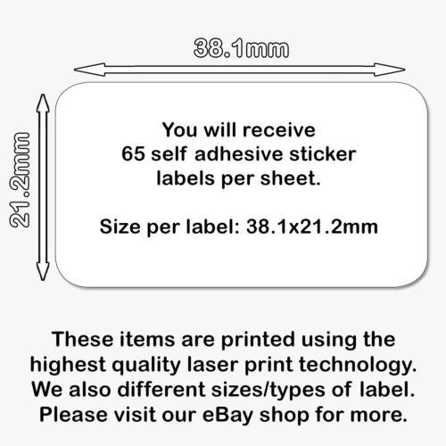 Sticky PERSONALIZZATO MINI carta a mano da etichette adesivi
