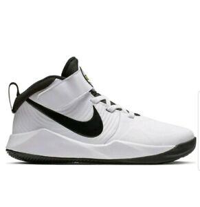Nike Team Hustle D9 Ps Shoes High Child Sneakers Basket Aq4225 100 Uk 2 Eur 34 Ebay