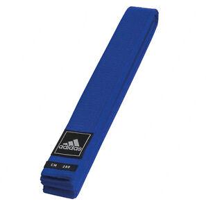 adidas Gürtel blau Judo Karate Ju-Jutsu Taekwondo - 40 mm - Budogürtel