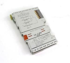 Beckhoff KL1104 Digital Input Module Used