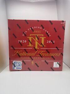 2020-21 National Treasures Basketball FOTL sealed box