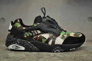 3305d818bae7 Image is loading Puma-Disc-Blaze-x-Bape-Camo-Green