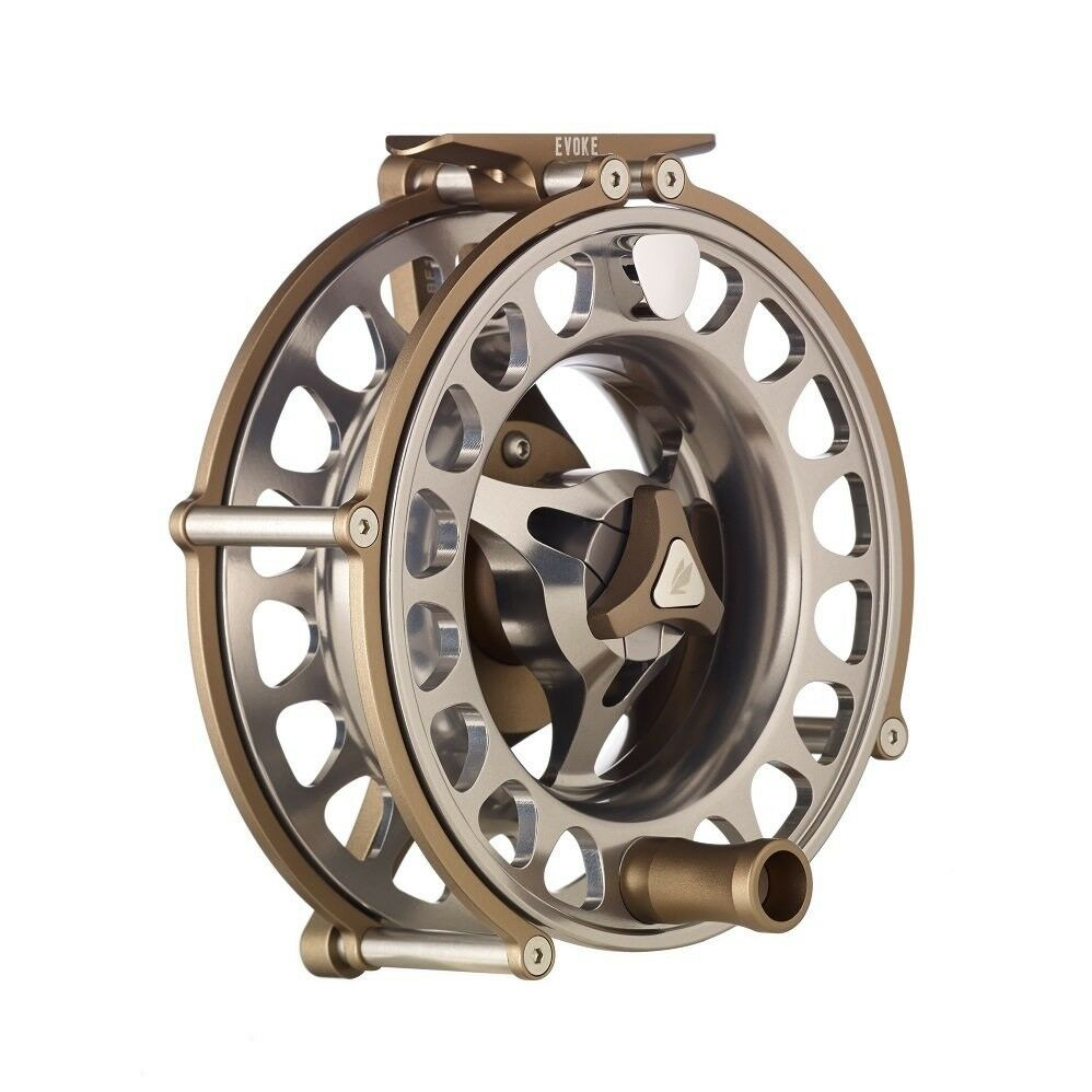 Sage Evoke Fly Reel -  10 Left Hand - Bronze - New - Closeout
