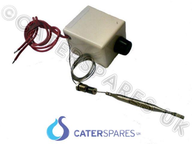 FALCON FREIDORA DE GAS 230º C Límite Alto Termostato desconexión automática