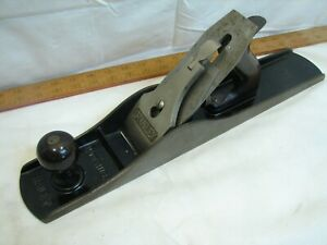 Clean-Stanley-Bailey-no-6-Smoothing-Fore-Plane-Woodworking-Wood-Tool