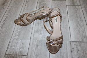 5 L Striped Women's Size 5 Bennett Silver Gold amp; k Sandal 5050923499912 Lourdes Owq8x6O